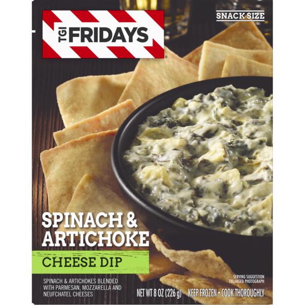 T G  I  Friday's Tgi Fridays Spinach & Artichoke Cheese Dip (8 oz