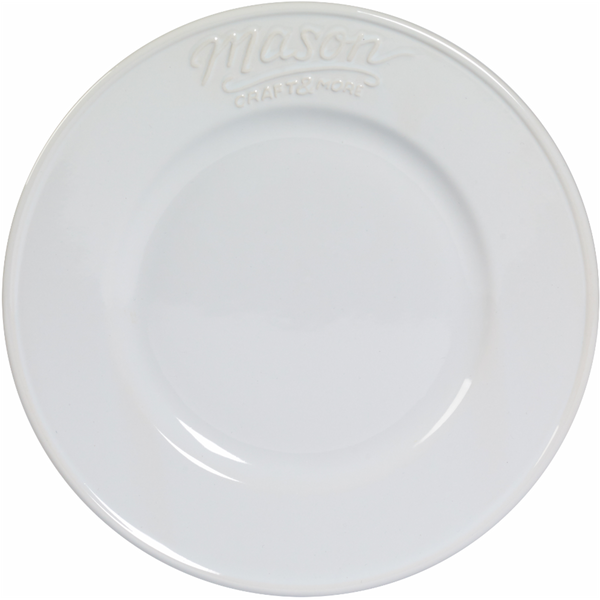 Kroger. Mason Craft \u0026 More 9\  White Ceramic Salad Plate  sc 1 st  Instacart & Mason Craft \u0026 More 9\