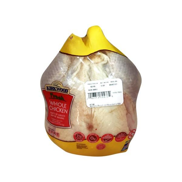 Kirkwood Fresh Whole Chicken 1 Lb From Aldi - Instacart-7958