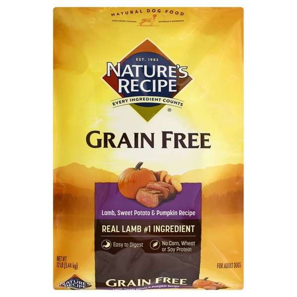 Natures recipe dog food grain free lamb sweet potato pumpkin natures recipe dog food grain free lamb sweet potato pumpkin recipe forumfinder Gallery
