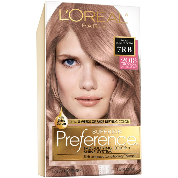 Superior Preference 7rb Dark Rose Blonde Hair Color From Giant Food