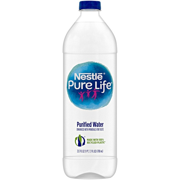 Nestlé Pure Life Purified Water (23 7 fl oz) from Stop & Shop