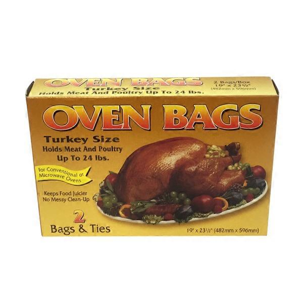 Durable Packaging Oven Bags Turkey Size (19\