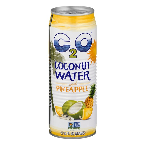 C2O Coconut Water with Pineapple Juice and Coconut Pulp ...