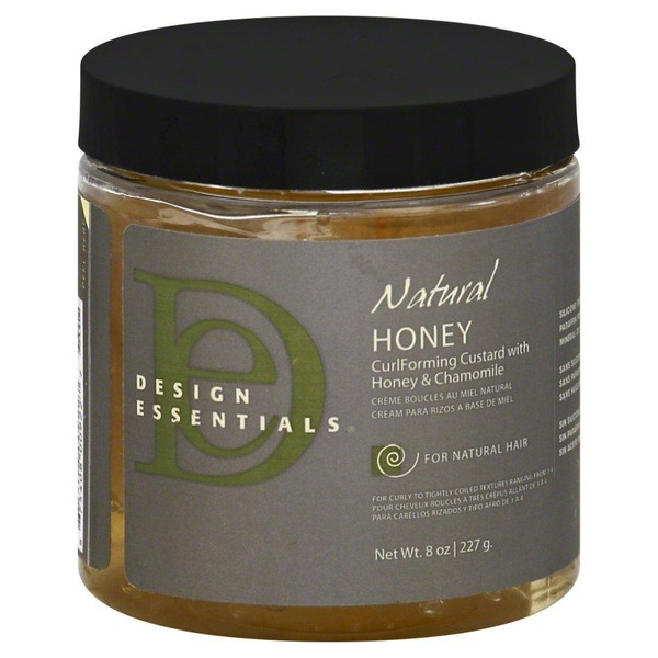 Design Essentials Natural Honey Curl Forming Custard With Honey