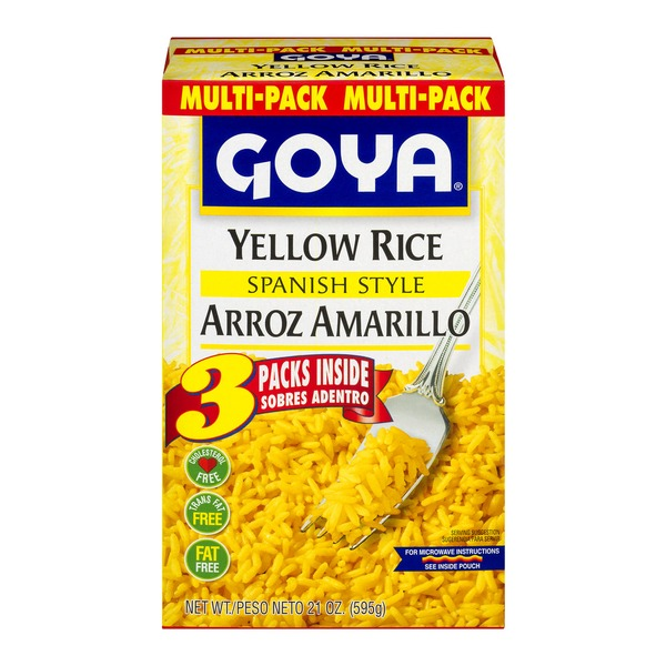 Goya Yellow Rice Multipack From Stop Shop Instacart