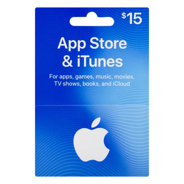 iTunes Gift Card $15 (1 ct) from Ralphs - Instacart