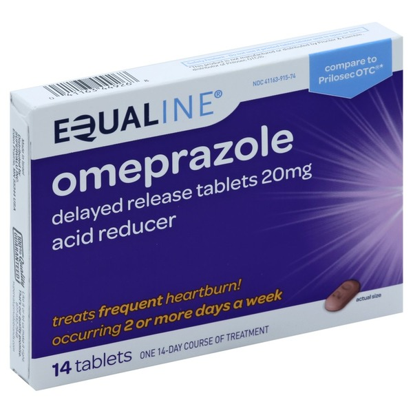 Admirable Equaline Omeprazole Delayed Release Acid Reducer 20 Gmtry Best Dining Table And Chair Ideas Images Gmtryco