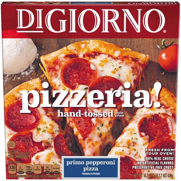 Digiorno Pizzeria Hand Tossed Style Crust Primo Pepperoni Digiorno