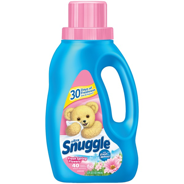 Snuggle Ultra Fresh Spring Flowers Liquid Fabric Softener From Giant