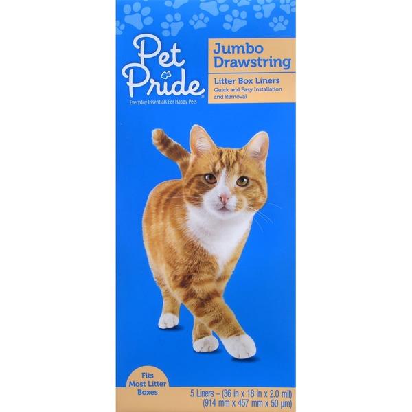 Van Ness Large Drawstring Valu-Pak Cat Pan Liners 20 Count