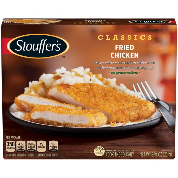Stouffers Classics Fried Chicken Stouffers Classics Fried Chicken