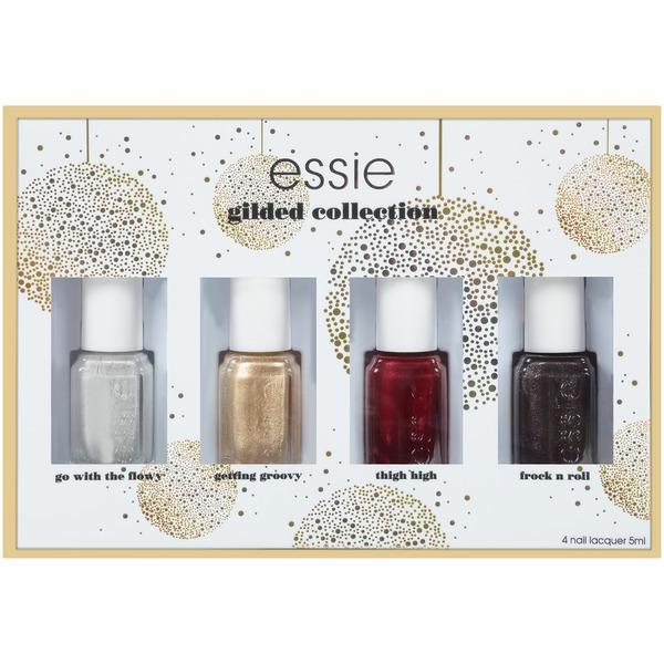 EssieR 2017 Gold Gilding Collection Holiday Nail Polish Kit