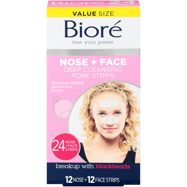 Biore Deep Cleansing Pore Strips (24 ct) from Meijer - Instacart