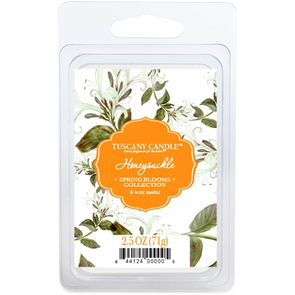 Tuscany Candle Honeysuckle Fragrant Wax Melts (2 5 oz) from King