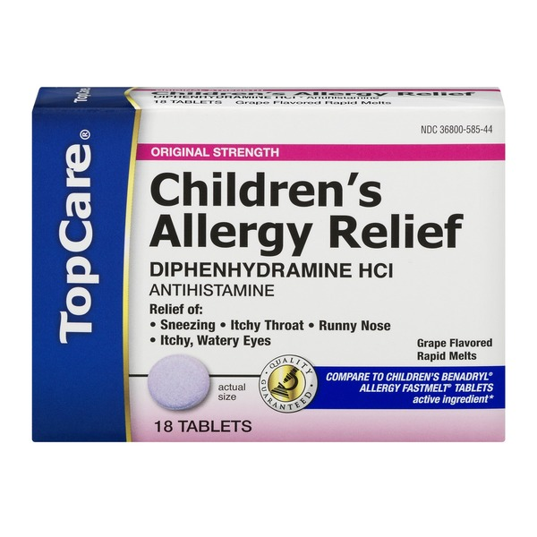 TopCare Antihistamine Children's Allergy Relief Original