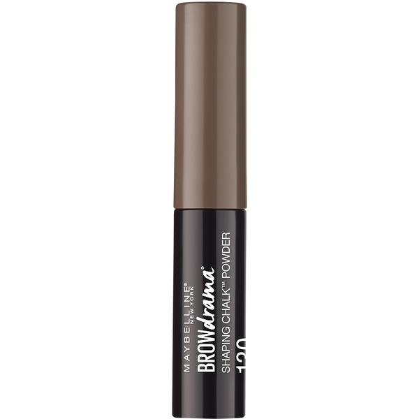 b9dcfd3efed CVS Pharmacy®. Maybelline Browdrama Shaping Chalk Powder, 130 Deep Brown