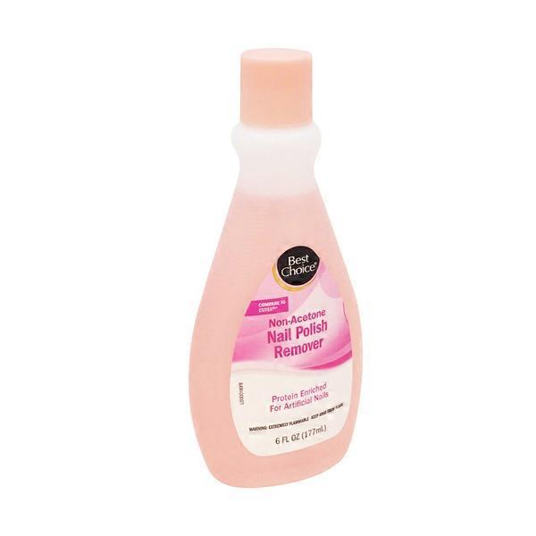 Best Choice Non Acetone Nail Polish Remover from Price Chopper ...