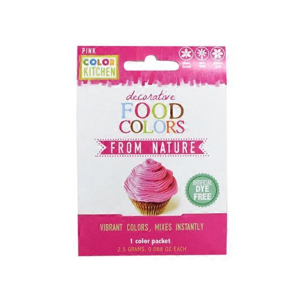 Color Kitchen Natural Food Color Packets, Beet Red from Whole Foods ...