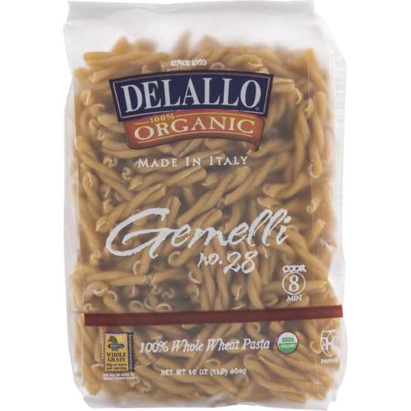 DeLallo Whole Wheat Gemelli, 100% Organic (16 oz) from Giant