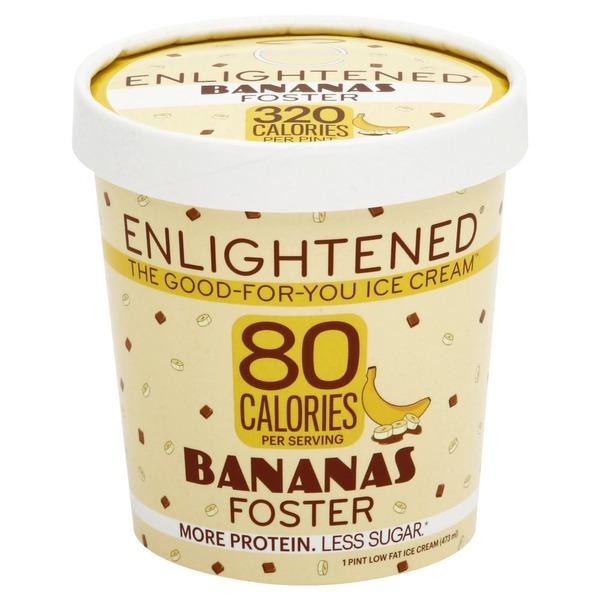 Enlightened Ice Cream Low Fat Bananas Foster