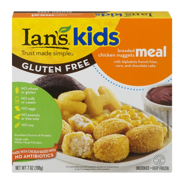 Ians Kids Meal Breaded Chicken Nuggets From Whole Foods Market