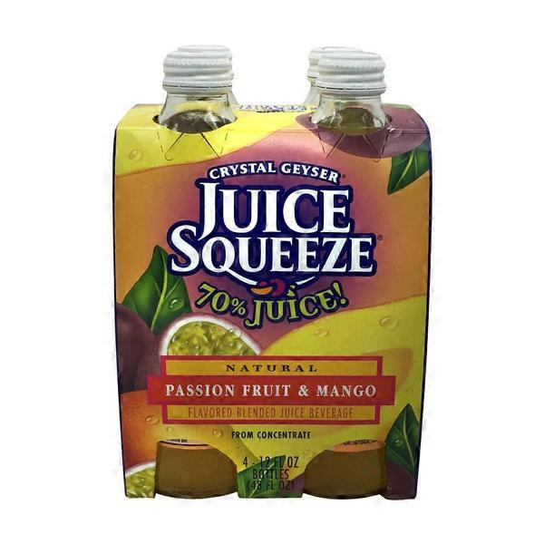 crystal geyser passion fruit mango juice squeeze 12 fl oz from rh instacart com