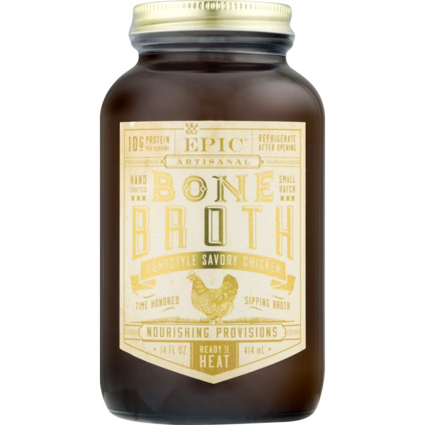 Epic Bone Broth Homestyle Savory Chicken From Whole Foods Market