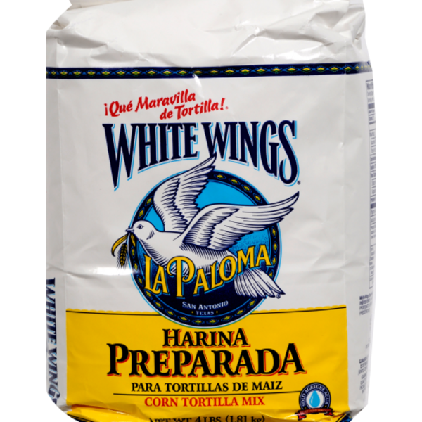 White Wings Corn Tortilla Mix 4 Lb From Super 1 Foods Instacart