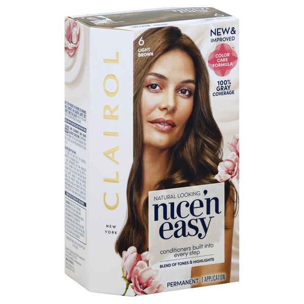Nice N Easy Permanent Color Light Brown 6 1 Ea From Food Lion