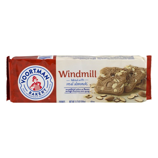 Almond Windmill Cookies House Cookies