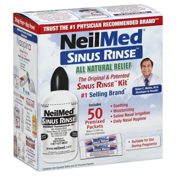 NeilMed Sinus Rinse Kit (8 fl oz) from Publix - Instacart