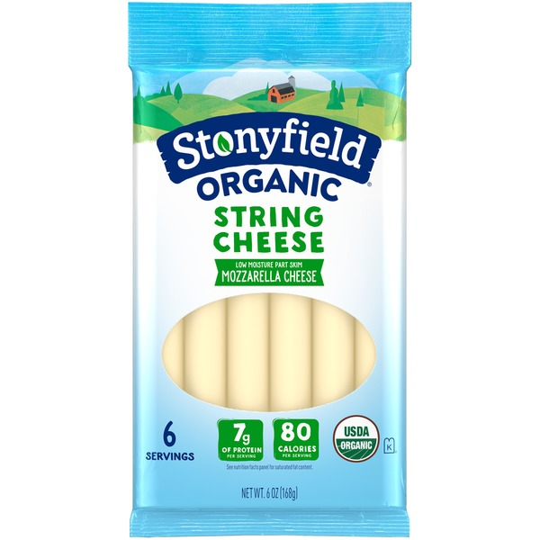 Image result for stonyfield string cheese