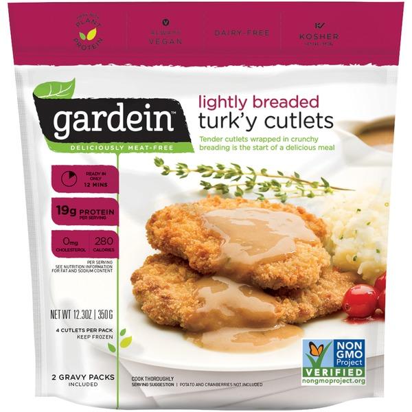 Gardein Lightly Breaded Turky Cutlet From Whole Foods Market