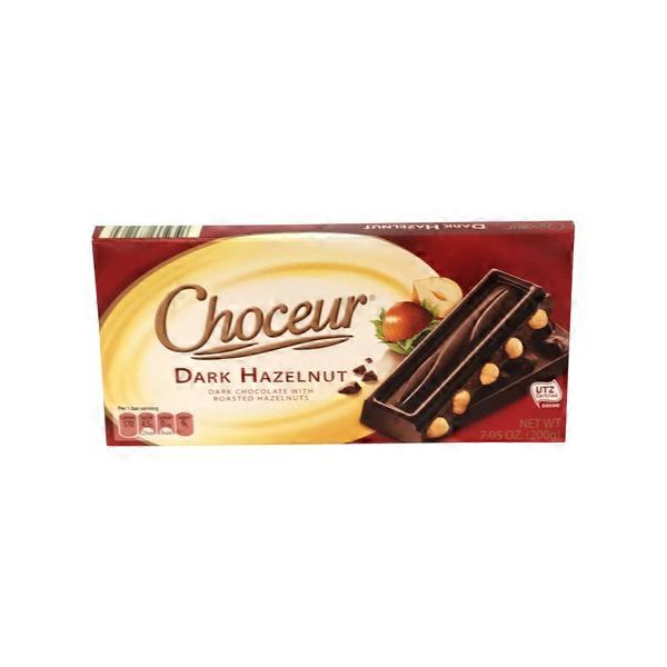 Hazelnut Dark Chocolate Cookies
