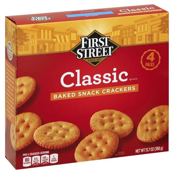 first street crackers at Smart & Final - Instacart