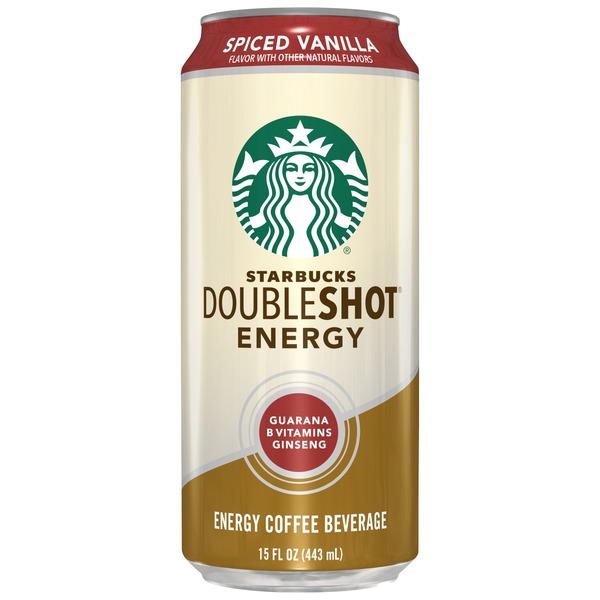 Starbucks Doubleshot Energy Spiced Vanilla Coffee From