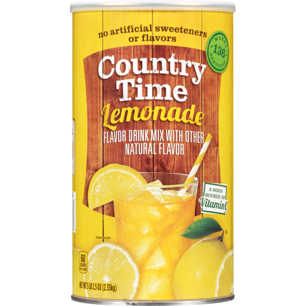 Country Time Lemonade Flavored Drink Mix (82 5 oz) from BJ's