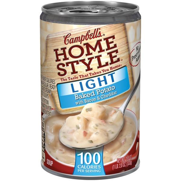 Campbellu0027s Homestyle Light Baked Potato SOUP