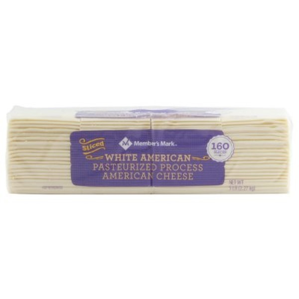 Member's Mark White American Cheese Slices (160 ct) from