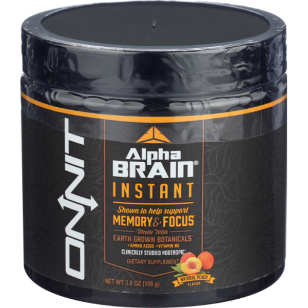 Onnit Peach Alpha Brain Instant Tub 38 Oz From Sprouts Farmers