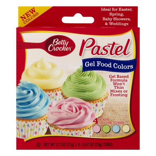 Betty Crocker Pastel Gel Food Colors (0.67 oz) from Smart ...