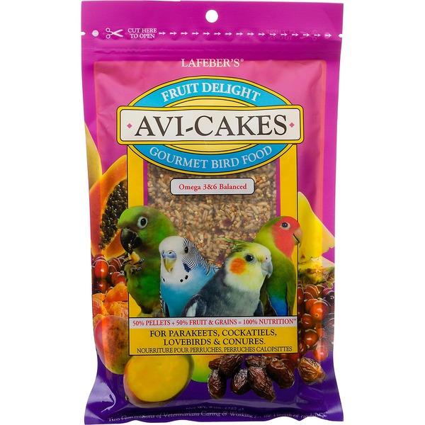 Lafeber's Fruit Delight Avi-Cakes Gourmet Bird Food for