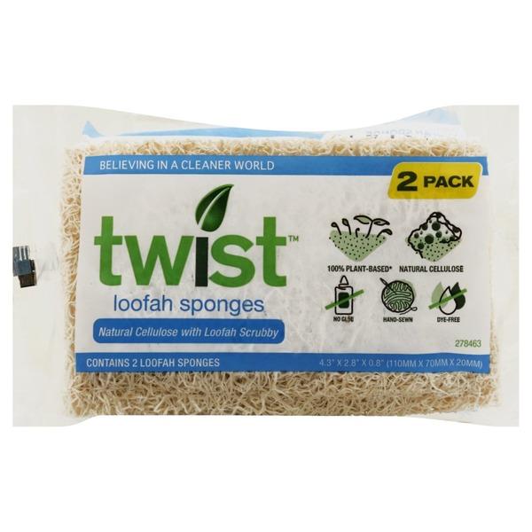 Twist Naked Sponges - 2 CT (2 ct) - Instacart