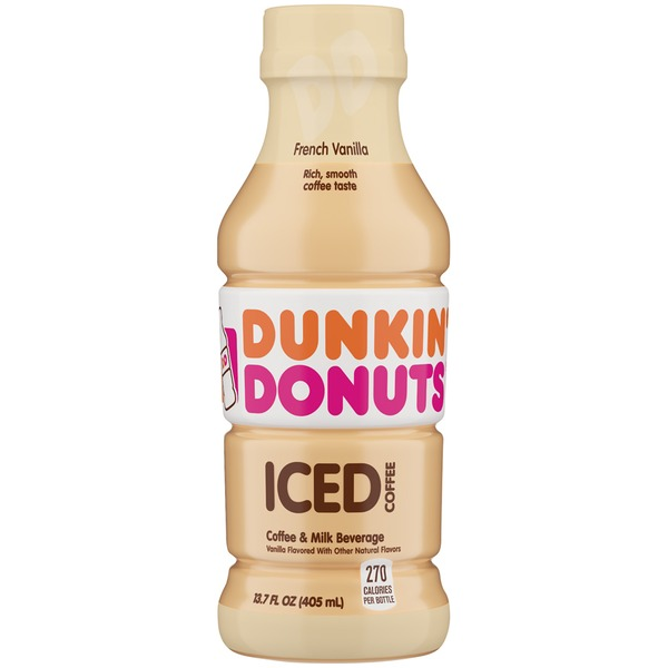 Dunkin Donuts French Vanilla Iced Coffee