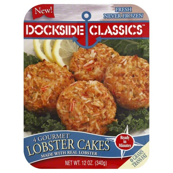 Dockside Classics Lobster Cakes 4 Ct