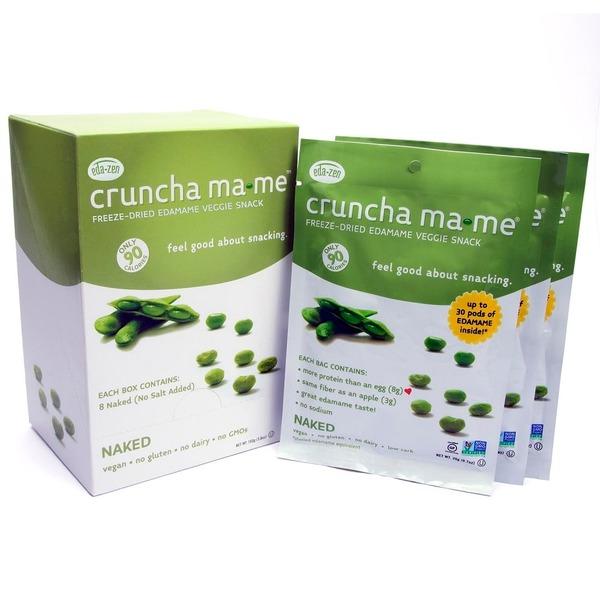 Eda-zen Cruncha Ma-me Freeze-dried Edamame Veggie Snack (0 7