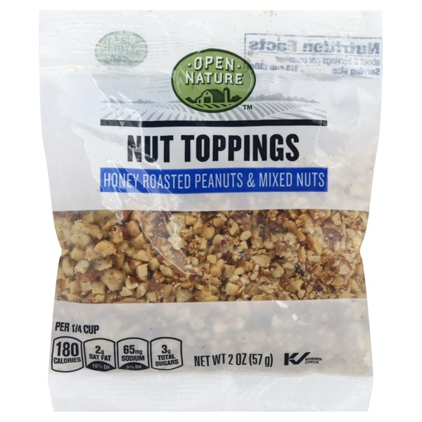Open Nature Honey Roasted Peanuts & Mixed Nuts (2 oz) from