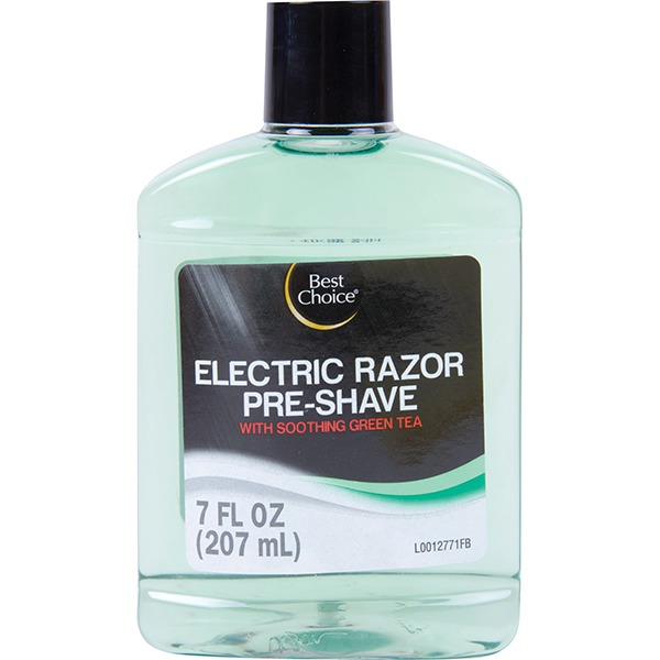 Best Choice Electric Razor Pre Shave 7 Oz From Rouses Markets