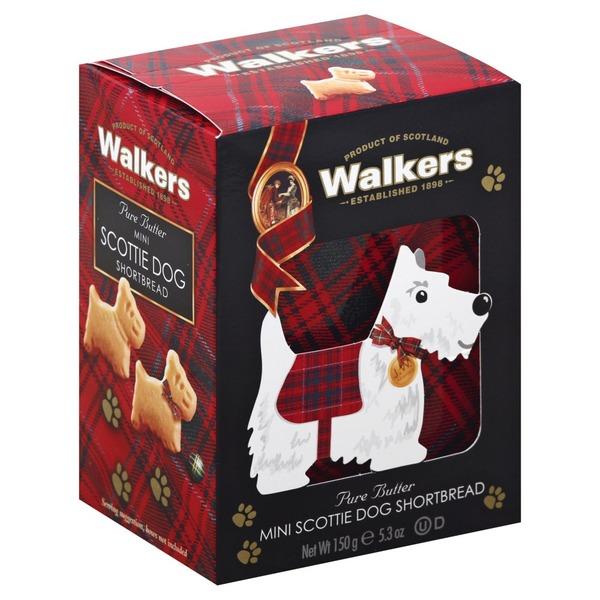Walkers Shortbread Pure Butter Mini Scottie Dog From Food Lion